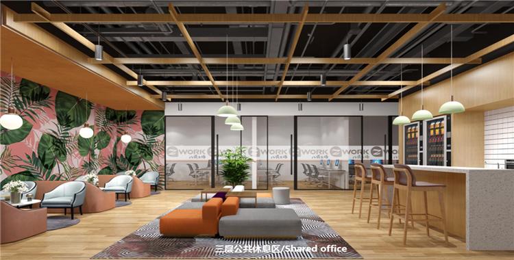 上海松江社区办公室工位