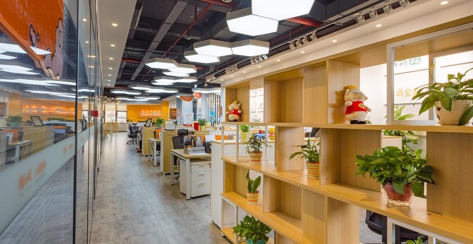 拉萨国际总部城社区办公室工位